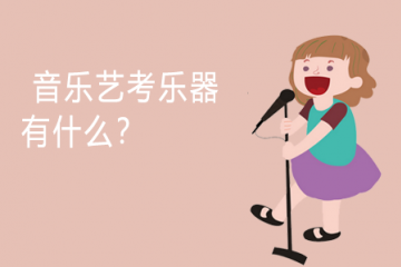 音乐艺考乐器有什么?