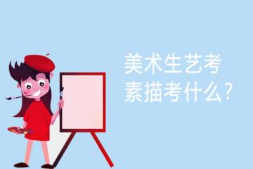 美术生艺考素描考什么?