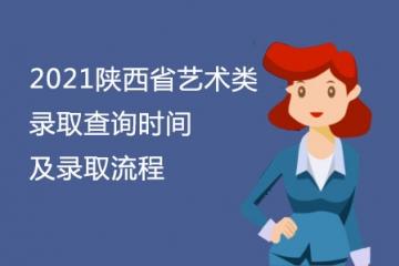 2021陕西省艺术类录取查询时间及录取流程