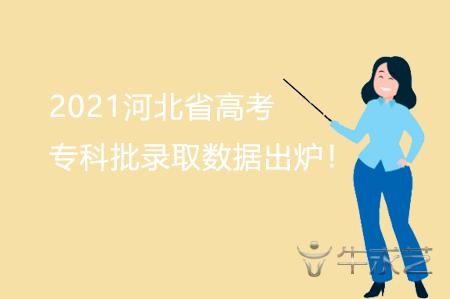2021河北省高考专科批录取数据出炉!