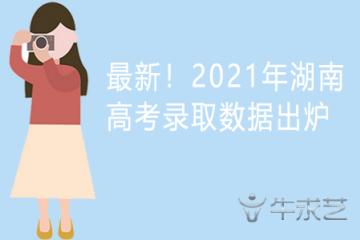 最新!2021年湖南高考录取数据出炉