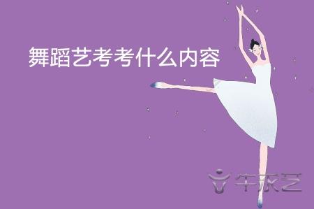 舞蹈艺考考试内容是什么?