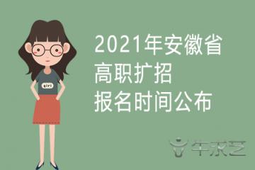 2021年甘肃省高职扩招报名通知