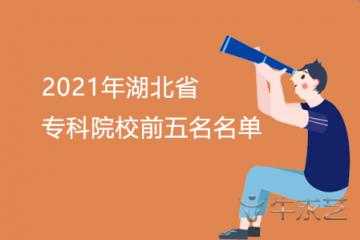 2021年湖北省专科院校前五名名单