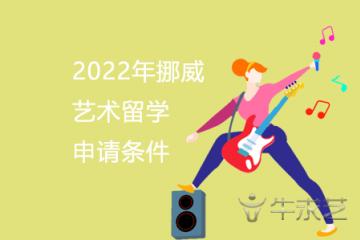 2022年挪威艺术留学申请条件