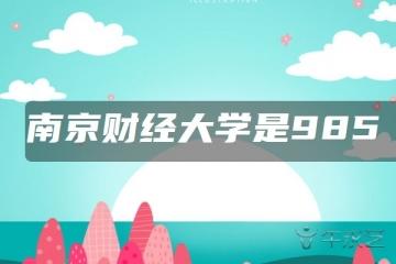 南京财经大学是985还是211