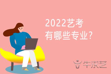 2022艺考有哪些专业?
