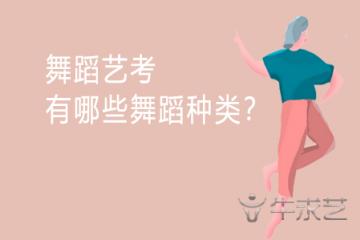 舞蹈艺考有哪些舞蹈种类?
