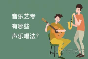 音乐艺考有哪些声乐唱法?