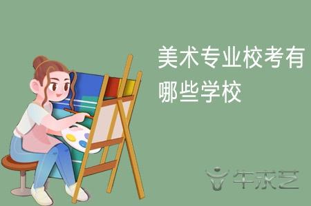 美术专业校考有哪些学校( 本科/民办)