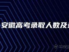 安徽高考录取人数及录取率2021