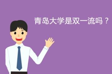 青岛大学是双一流吗?