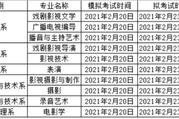 北京电影学院现代创意媒体学院  2021年本科招生简章