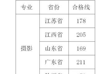 武昌工学院2021年艺术类专业校考拟定合格分数线