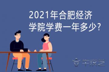 2021年合肥经济学院学费一年多少?