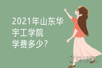 2021年山东华宇工学院学费多少?